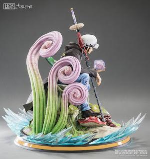 """Figuras: Abierto pre-order de Trafalgar D. Water Law HQS+ de """"One Piece"""" - Tsume Art"""