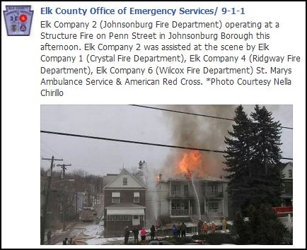 solomon s words for the wise structure fire in johnsonburg