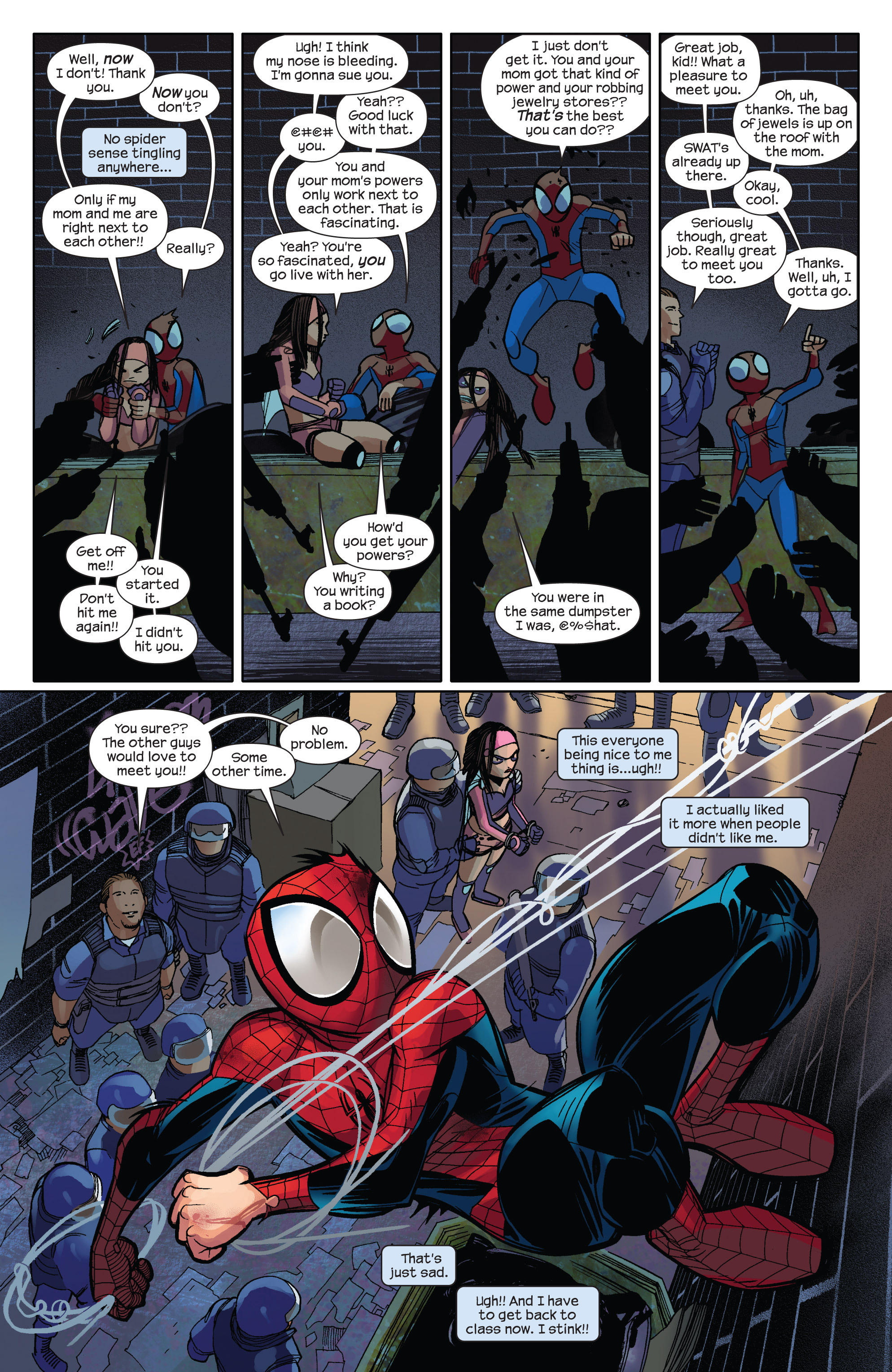 Read online Ultimate Spider-Man (2009) comic -  Issue #2 - 22