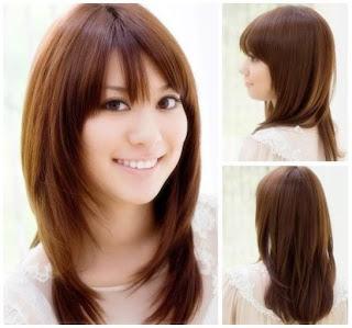 gaya potongan rambut pria dan wanita panjang pendek