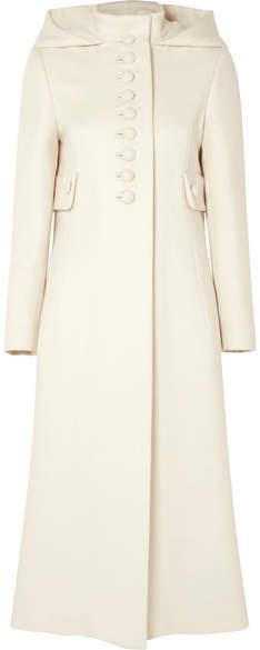 Gucci - Hooded Wool Coat – Ivory