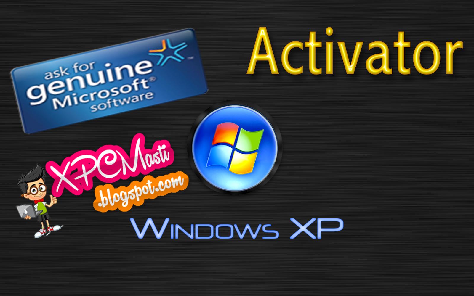 activate windows xp sp3 genuine
