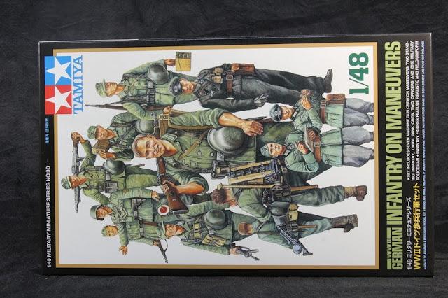 German Infantery Tamiya 1/48