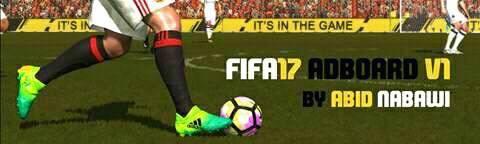 FIFA 2017 Animated Adboard V1 untuk PES 2017 dari Abid