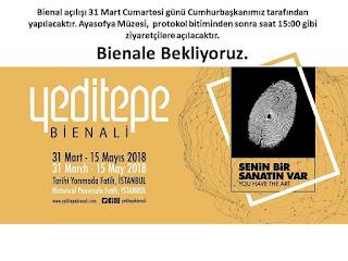 Yeditepe Bienali'nde Ayasofya'dayız.
