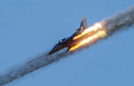 Air stunts & controlled strikes wow crowds at military aircraft competition Aviadarts in Russia