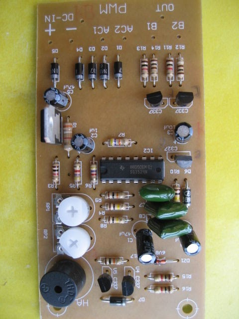 Solar Invertercharger Circuit For Science Project Electronic