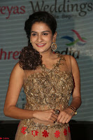 Jenny in brown transparent sleeveless anarkali dress at Shamanthakamani pre release function ~  Exclusive 040.JPG