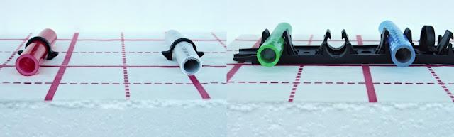 Ako upevniť rúrky podlahového kúrenia