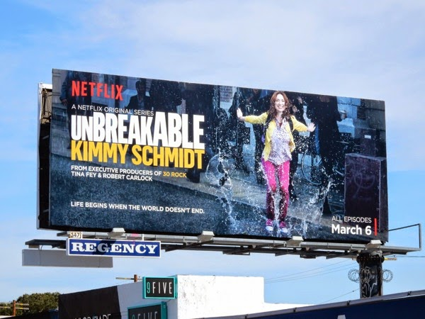 Unbreakable Kimmy Schmidt season 1 billboard
