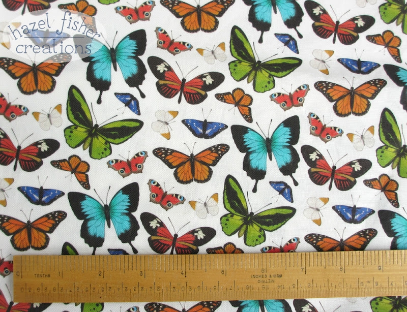 butterfly fabric spoonflower hazel fisher creations