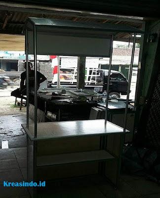 Gerobak Lipat Alumunium siap menerima pesanan di Jabodetabek