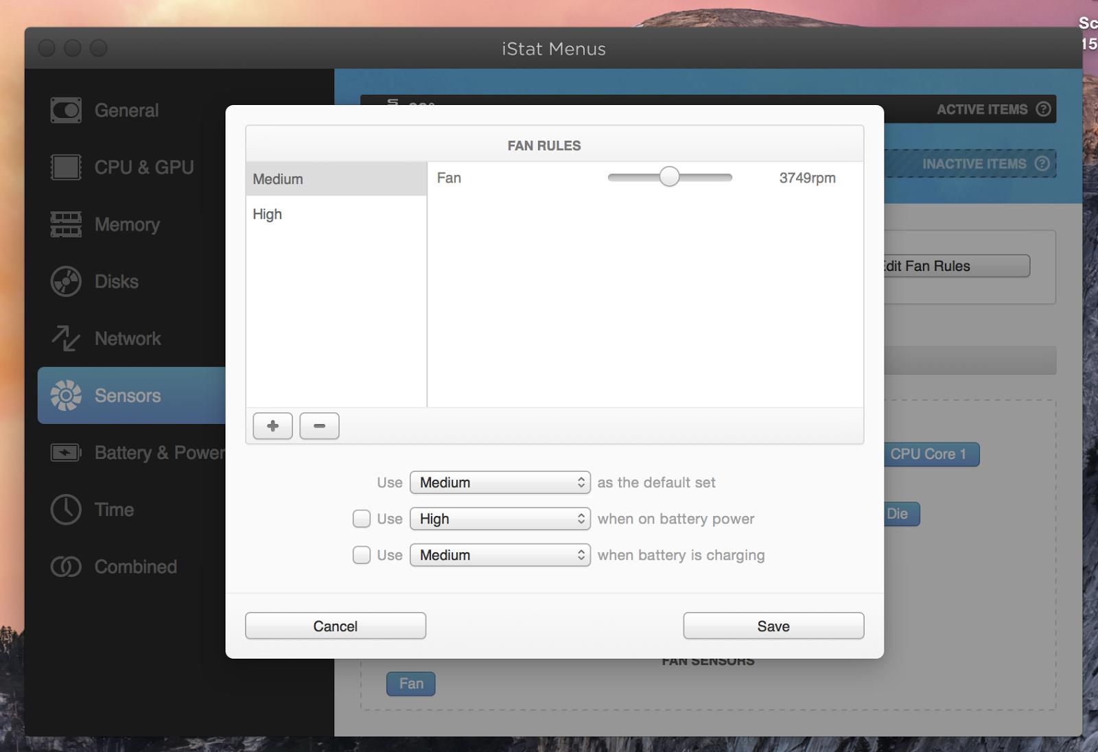 MAC MAC MAC: The God of monitor, the iStat menus