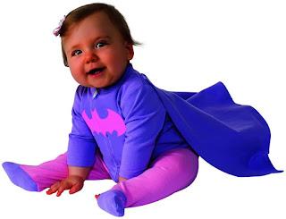 DC Comics Batgirl Newborn Infant Costume