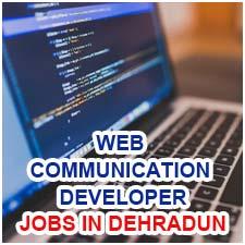 Web Communication Developer (Dreamweaver Expert) EXP- 0 Years to 5 Years Jobs in Dehradun