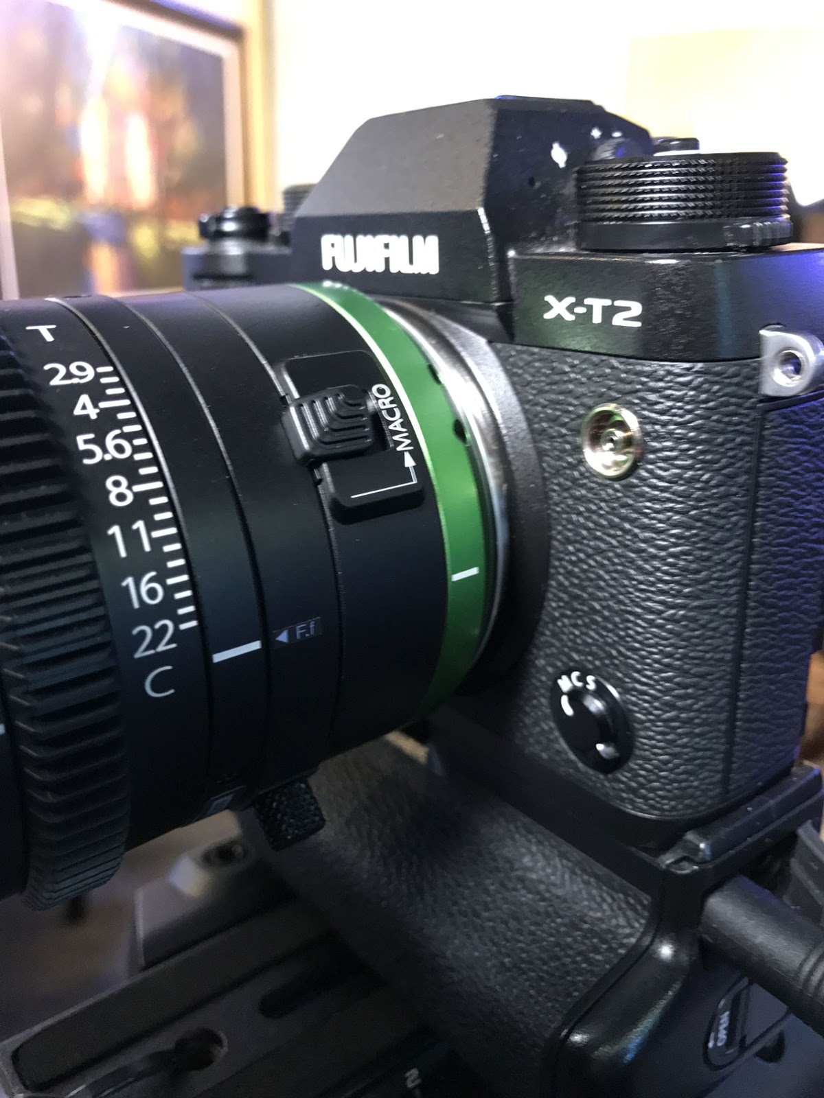 Fujinon MK 18-55mm T2.9 на камере Fujifilm X-T2