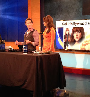 Billy Lowe, Celebrity hair stylist Los Angeles, appears on KCAL News frequently to share red carpet hair tips and trends
