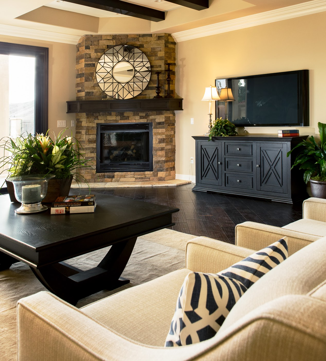 Family Living Room Ideas: BDG Style: Home Staging Project: Orange County, CA