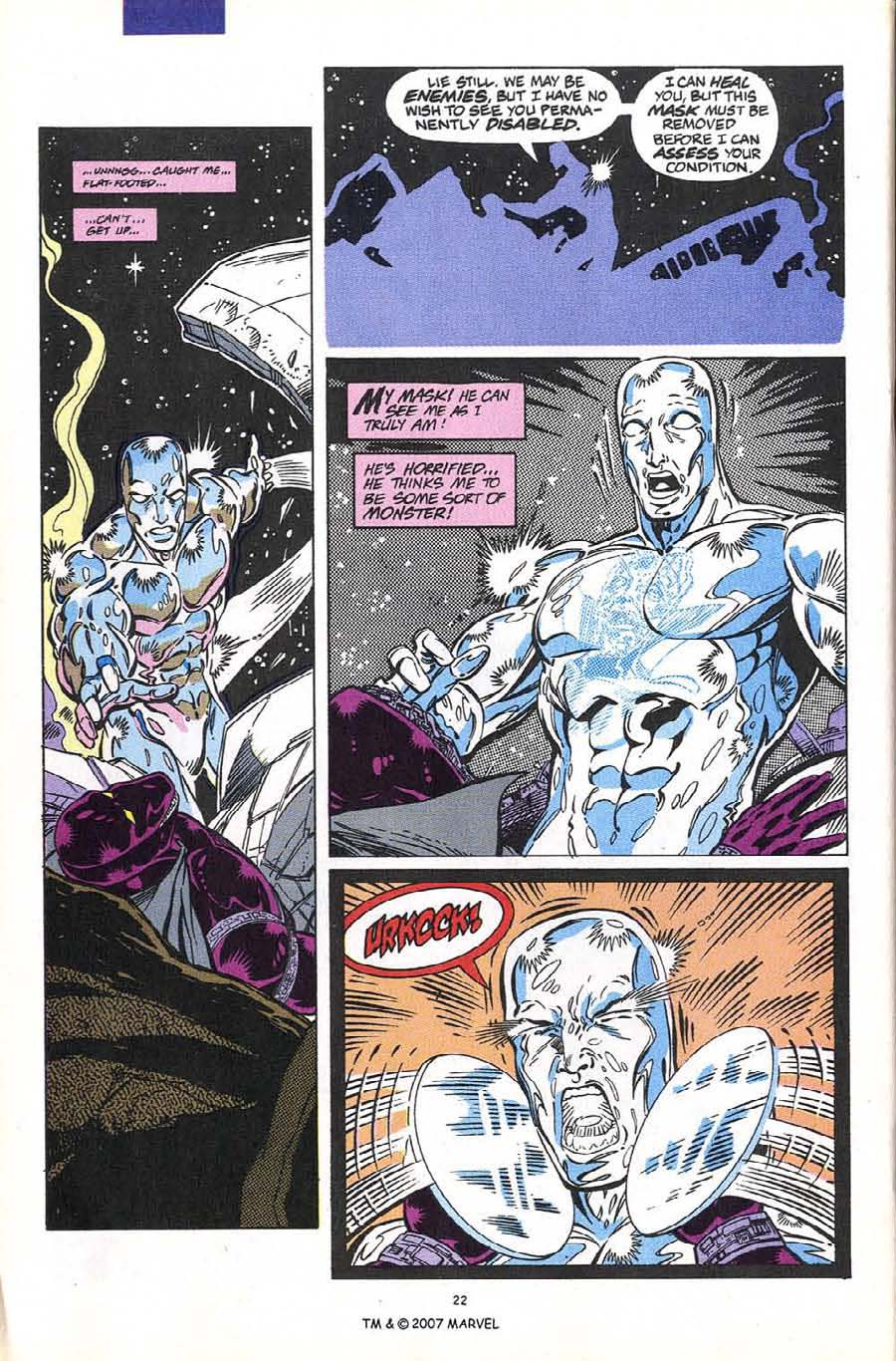 Read online Silver Surfer (1987) comic -  Issue #60 - 24
