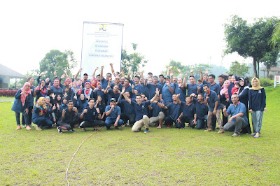 Motivator Indonesia Happiness Outbound & Training Kementerian PUPR bersama Kautsar Management