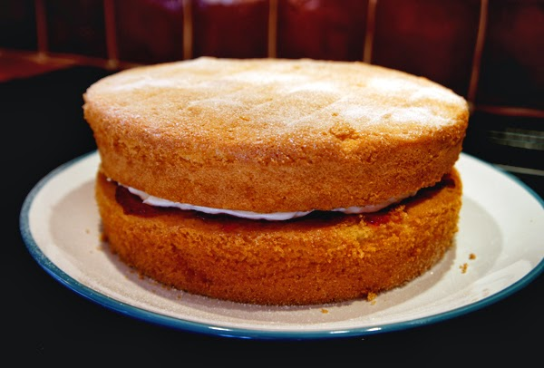 Mary Berry Sponge Cake Recipes Uk: All About The Girl: Mary Berry's Victoria Sponge Cake