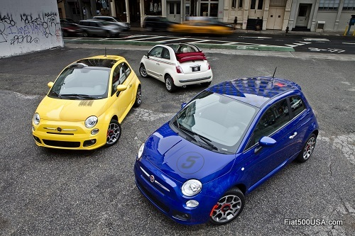 Fiat 500 Cabrio and Hatch