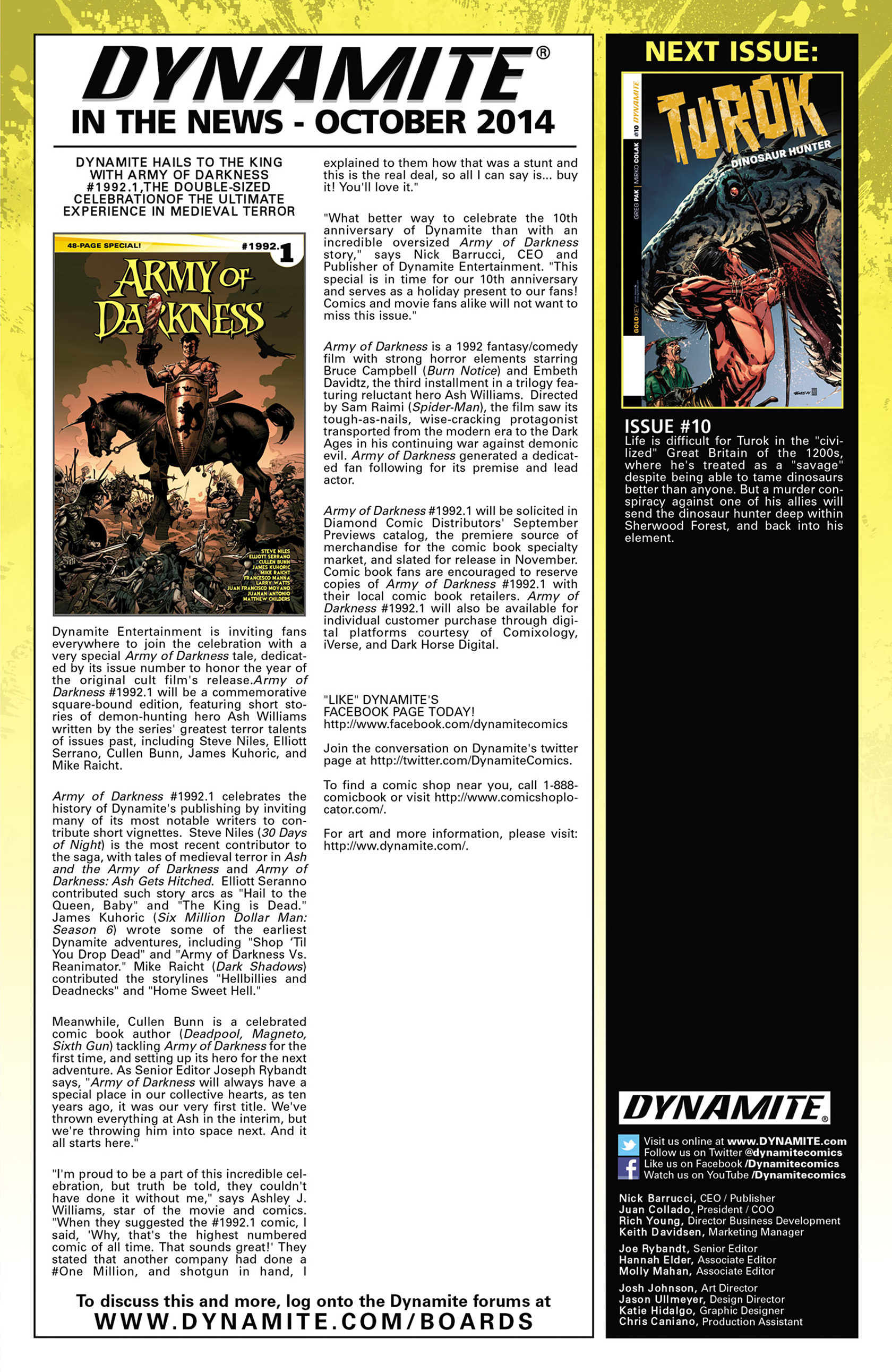 Read online Turok: Dinosaur Hunter (2014) comic -  Issue #9 - 25
