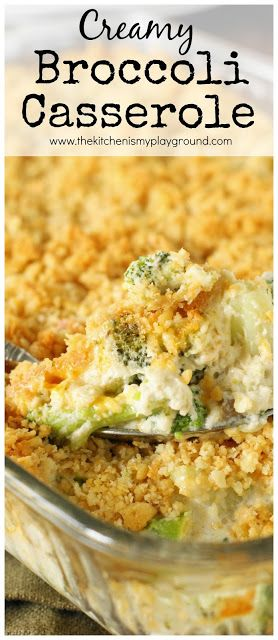 ★★★★☆ 7561 ratings | CREAMY BROCCOLI CASSEROLE #HEALTHYFOOD #EASYRECIPES #DINNER #LAUCH #DELICIOUS #EASY #HOLIDAYS #RECIPE #CREAMY #BROCCOLI #CASSEROLE