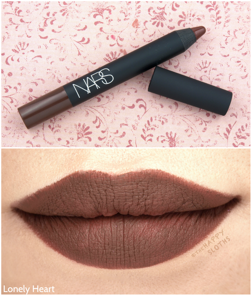 "NARS Velvet Matte Lip Pencil in ""Lonely Heart"": Review and Swatches"