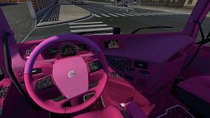 Volvo 2012 Pink interior