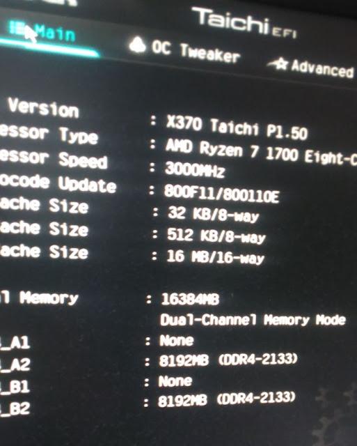 X370 Taichi V1.5