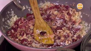 طريقة عمل كبدة بالطماطم مع نادية سرحان في مغربيات