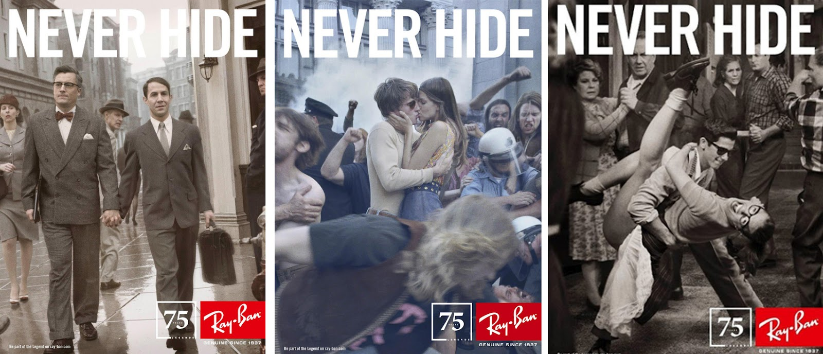 241e0a8715 Ray Ban Never Hide Ad Analysis « Heritage Malta