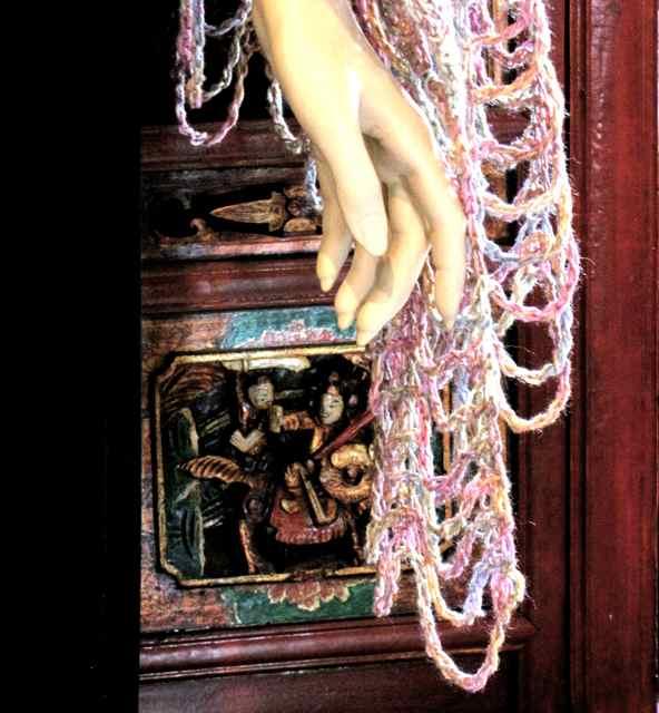 tunisian lace stitch