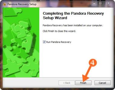 data recovery software installation img