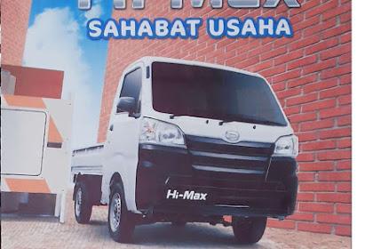 Promo DP SUPER RINGAN Daihatsu Hi Max di Medan Maret 2017