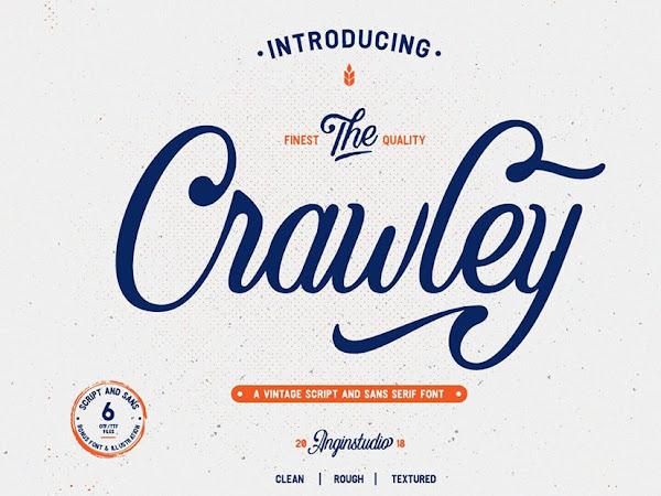 The Crawley Script Font Free Download