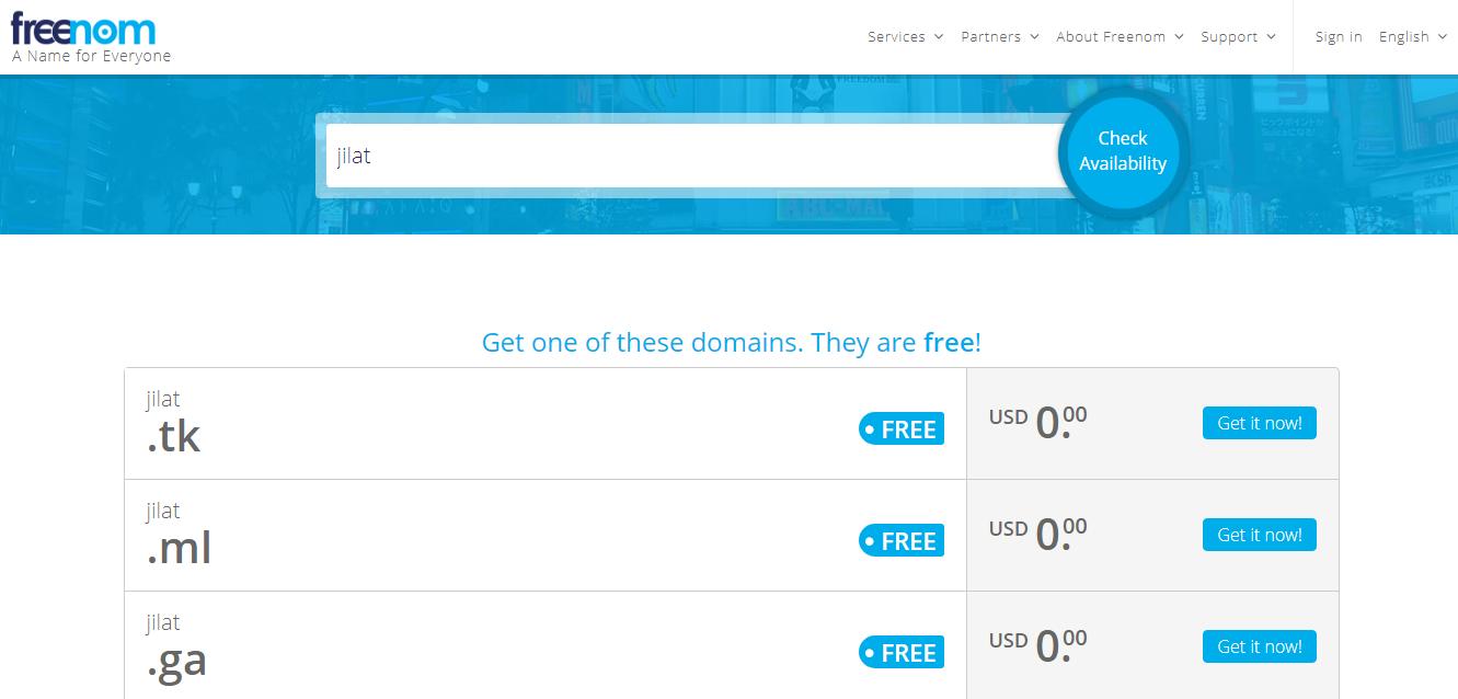 Cara Setting Domain Freenom Ke Blogspot Dalam 5 Menit