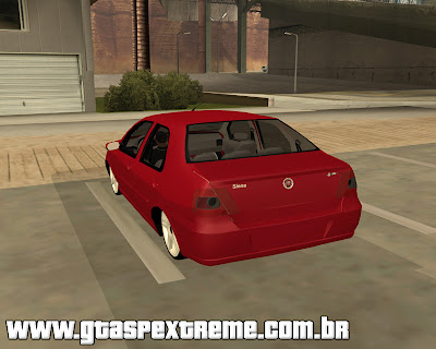 Fiat Siena Galera do Arrasta para grand theft auto