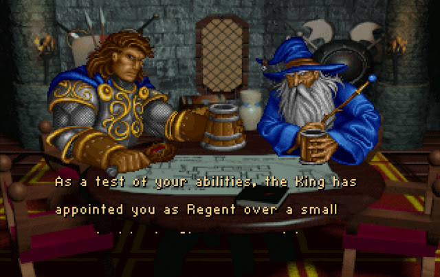 Warcraft 1 Story Screenshot
