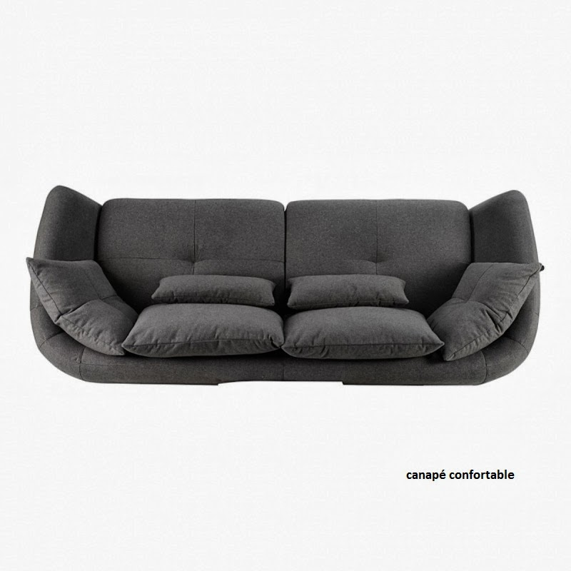 canap confortable canap togo. Black Bedroom Furniture Sets. Home Design Ideas