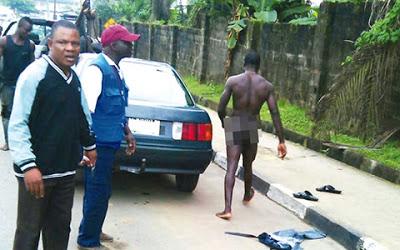driver strips naked calabar