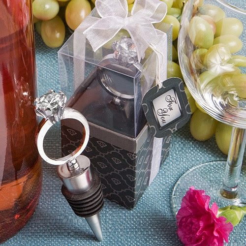 If you love wine, incorporate it into your wedding with wine wedding favors. Get ideas for some in this post on www.abrideonabudget.com.