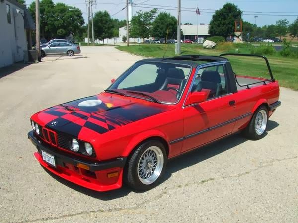 Just A Car Geek: 1984 BMW E30 323i Pick Up Truck - For