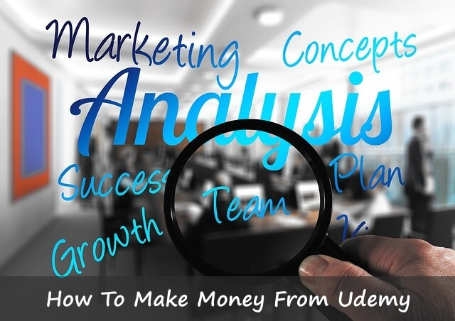 How To Make Money From Udemy