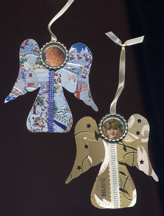 angel craft ideas joanna grant mixed media how to make those recycled 1046