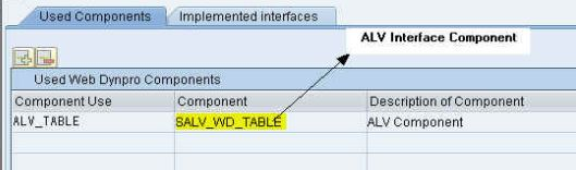 Marvelous What is the used ponent to Create an ALV List in Web Dynpro