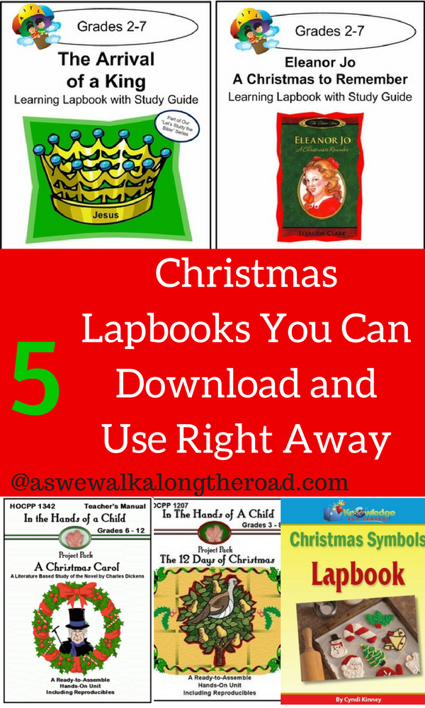 Christmas lapbooks