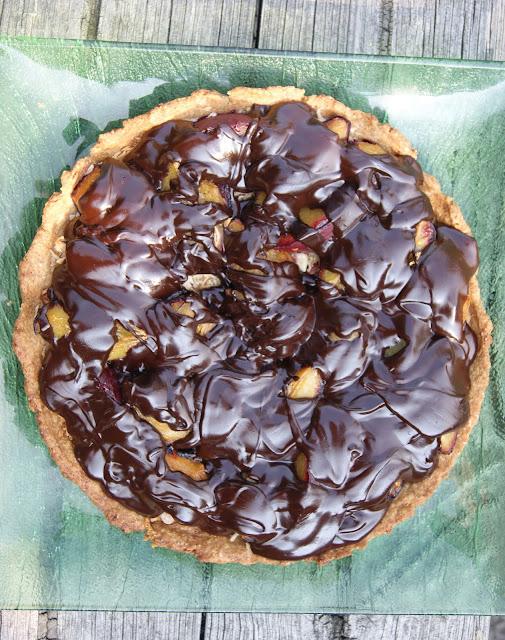 orkiszowa tarta z czekolada