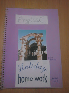 Project File Cover Page Design Handmade Mission School Projects